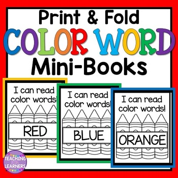 Color Word Books