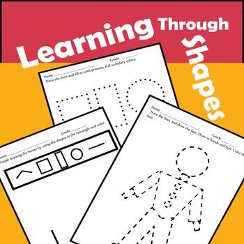 Pre-K and Kindergarten Shapes Lesson