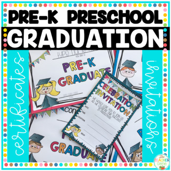 prek and preschool graduation certificates  by the teacher, Quinceanera invitations