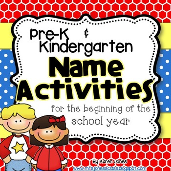 Name Activities for the beginning of the school year