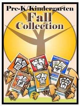 Pre-K/Kindergarten Fall Collection-6 Fine Motor Skills Act