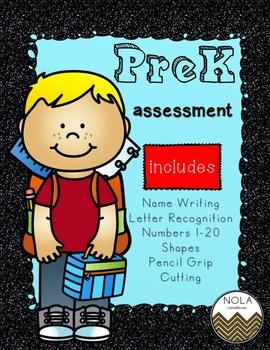 Pre Kindergarten Assessment