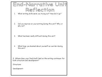 Pre-Mid-End Narrative Reflection