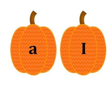 Pre-Primer Dolch Sight Word Locker Tags-Pumpkins for October