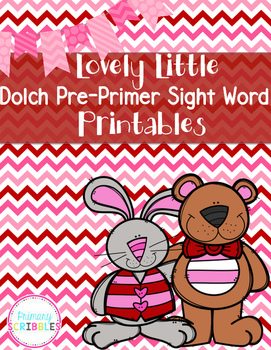 Pre-Primer Dolch Sight Words {Color by Code}
