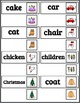 Pre-Primer Dolch Sight Words & Nouns (94)  Picture-Word Ma