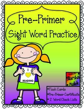 Pre-Primer Practice (S.Malek)