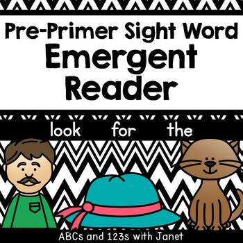 Pre-Primer Sight Word Emergent Reader (look, for, the)
