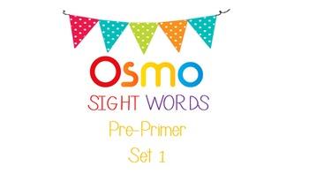 Pre-Primer Sight Words OSMO
