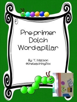 Pre-Primer Word-apillar