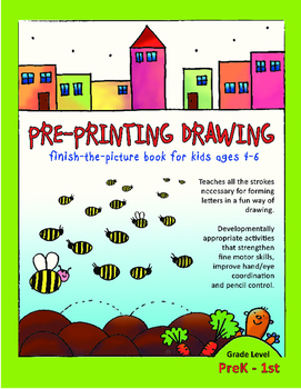 Pre-Printing Drawing Activity Sheets - Pre-K, TK, Kinderga