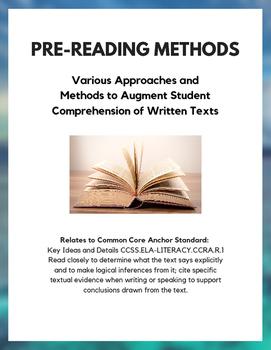 Pre-Reading Methods