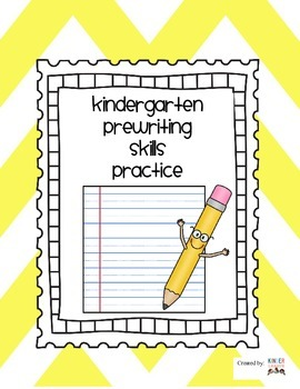 Pre-Writing Skills Practice Sheets