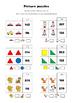Pre-algebra picture puzzles 2 x 2