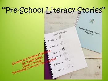 Pre-chool Literacy Stories