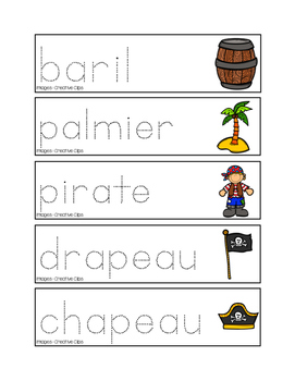 Pré-écriture des pirates