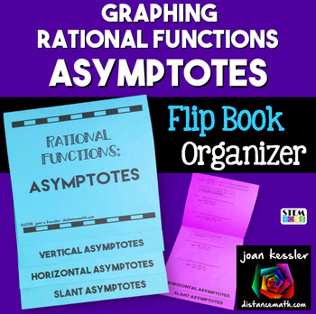PreCalculus Asymptotes Rational Functions Flip Book