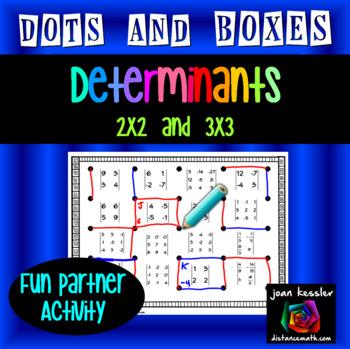 Determinants Matrices Dots Game
