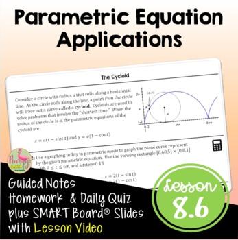 PreCalculus: Parametric Applications