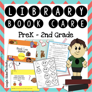 PreK-2nd Library Book Care