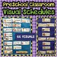 Visual Schedule & Center Labels ~Editable~ PreK Classroom