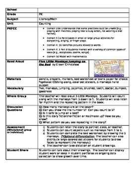 PreK lessonplans worksheets Self Portrait/ Family/Feelings