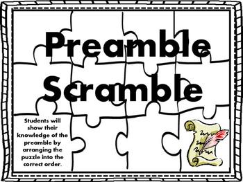Preamble Scramble