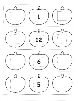 File Folder Preceding and Following Numbers Through 20 (Ap
