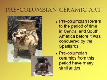 Precolumbian Zoomorphic Ceramic Project