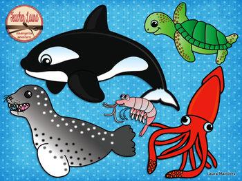 Ocean Animals Clipart