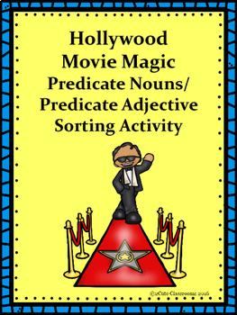 Predicate Adjectives vs. Predicate Noun Hollywood Themed S
