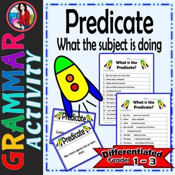 Predicate, Identify the Predicate of a Sentence