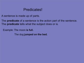 Predicates Smartboard