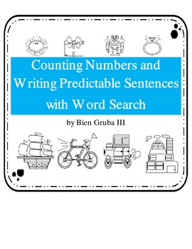 Writing Predictable Sentences and Counting Practice:Math a