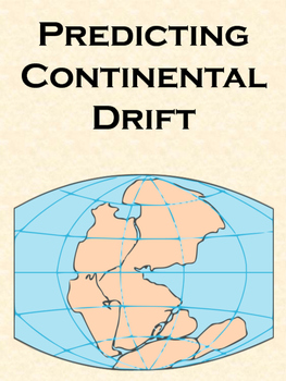 Predicting Continental Drift Math Activity