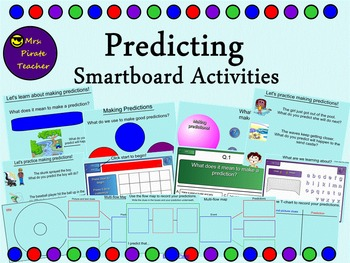 Predicting Lessons and Activities (Smartboard)