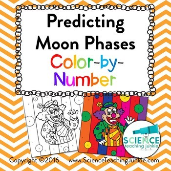 Predicting Moon Phases Color-by-Number