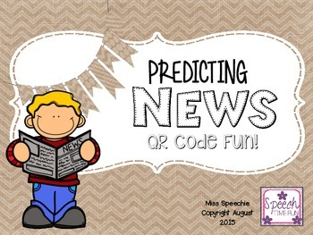 Predicting News QR Code Fun
