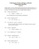Predicting the Products of Single and Double Displacement