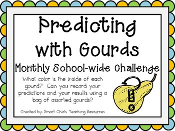 Predicting with Gourds ~ Monthly School-wide Science Chall