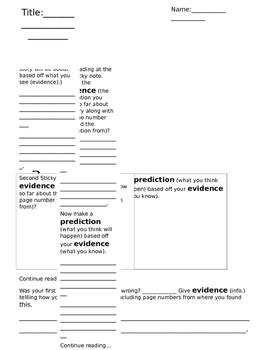 Prediction/Evidence