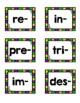 Prefijos y sufijos (Prefixes and Suffixes Sort)