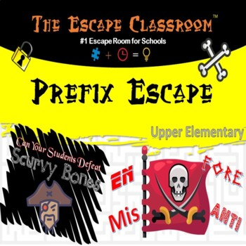 Prefix Escape Classroom (4th - 5th Grade)