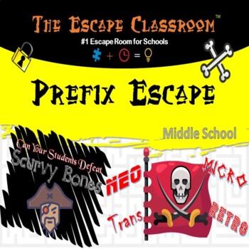Prefix Escape Classroom (6th - 8th Grade)
