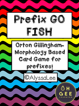 Prefix Go Fish- Morphology