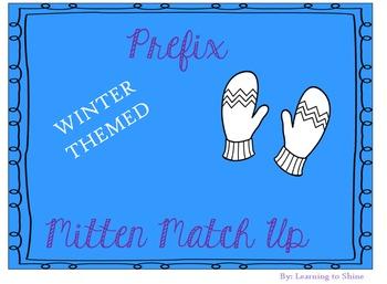 Prefix Mix and Match Winter Themed