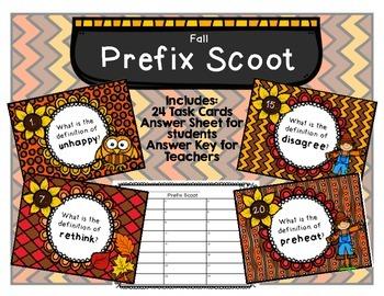 Prefix Scoot Fall