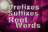 Prefix Suffix and Root Word PowerPoint Practice Prefixes,
