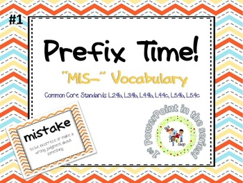 Prefix Time! Series #1: MIS-