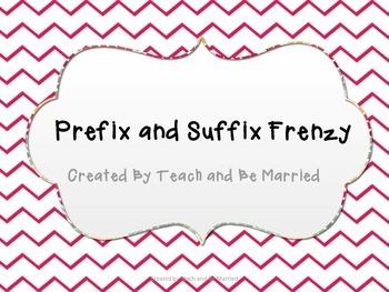 Prefix and Suffix Frenzy